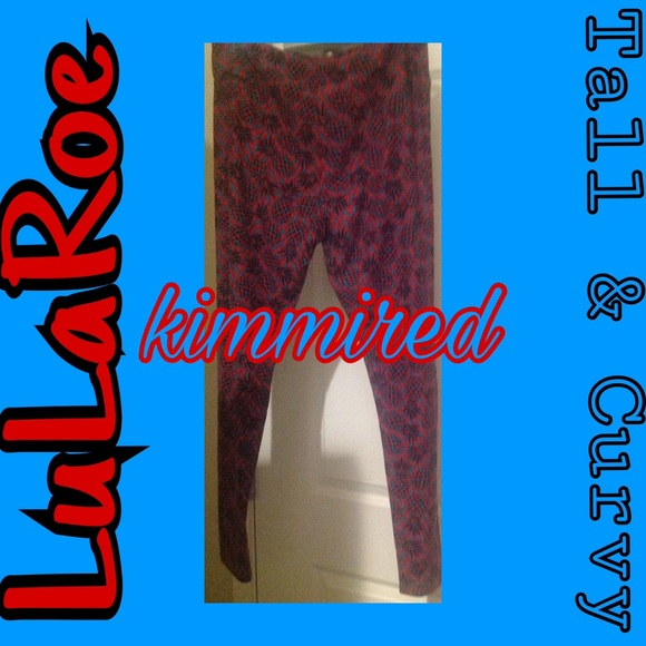 LuLaRoe Pants - Pineapple LuLaRoe/LLR Leggings ~ TC ~ EUC